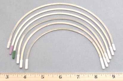 8 Pair Bra Underwire Replacement Steel