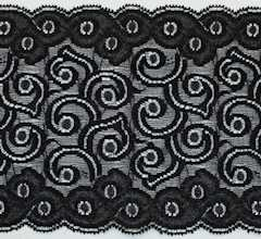 """10 Yard YD New 2 3//8/"""" 6 mm Elastic Rubber Lace Trim Foral Pattern Clothes Grip"""