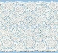 """45/"""" 1 YARD 9/"""" OF NEW WHITE 2/"""" WIDE DECORATIVE POLYESTER LACE TRIM"""